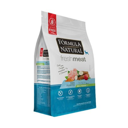 Fórmula Natural Fresh Meat Cães Filhotes Portes Mini e Pequeno