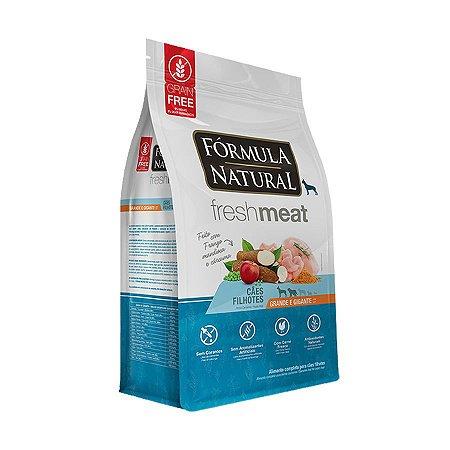 Fórmula Natural Fresh Meat Cães Filhotes Portes Grande e Gigante