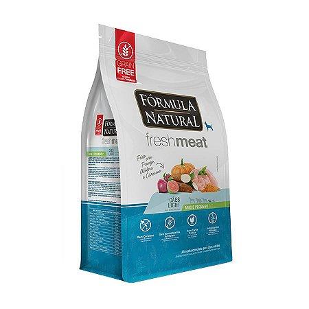 Fórmula Natural Fresh Meat Cães Light Portes Mini e Pequeno