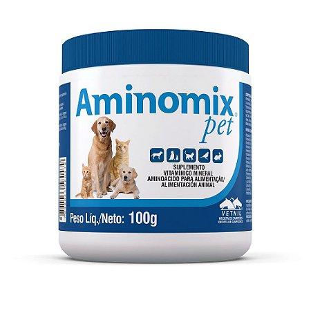 Aminomix Pet  Suplemento Vitaminico Pó Vetnil