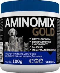 Aminomix Gold  Suplemento Vitaminico Pó Vetnil