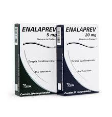 Enalaprev Vasodilatador com 20 Comprimidos