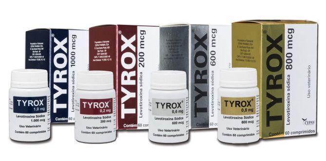 Tyrox 60 Comprimidos