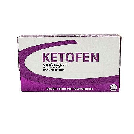 Ketofen Anti-inflamatório  com 10 Comprimidos