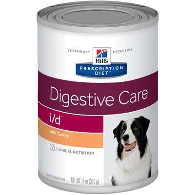 Ração Hill's Prescription Diet Lata i/d para Cães Adultos - Cuidado Digestivo 370g