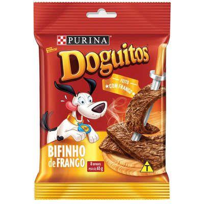 Doguitos Rodizio Bifinho de Frango 65g