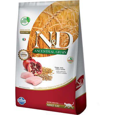 Ração ND N&d Ancestral Grain Low Grain para Gatos Adultos Frango