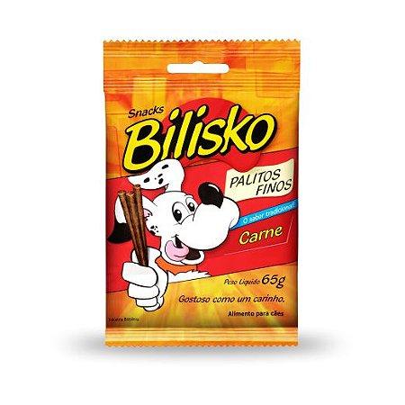 Bilisko Petisco para Cães Palito Fino Carne