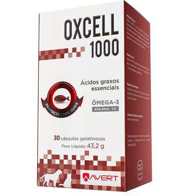 Suplemento Avert Oxcell 1000 para Cães 30 Capsulas 43,2g