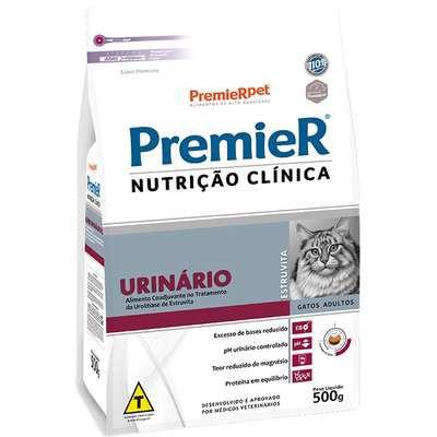 Ração Premier Nutrição Clínica para Gatos Urinário Estruvita