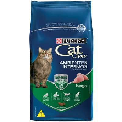 Cat Chow Defense Plus Adulto Ambientes Internos