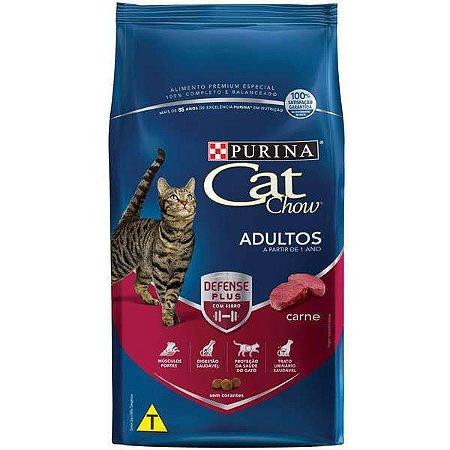 Cat Chow Defense Plus Adulto Carne