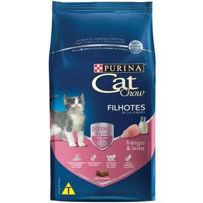 Cat Chow Defense Plus Filhote Frango 1kg