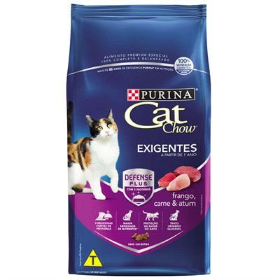 Cat Chow Defense Plus Adulto Exigentes 1kg