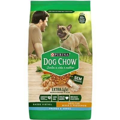 Dog Chow Extra Life Adulto Mini e Pequeno frango