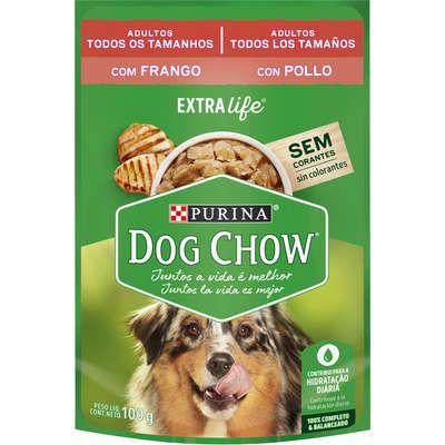 Dog Chow Sachê Câes Adultos Frango 100g