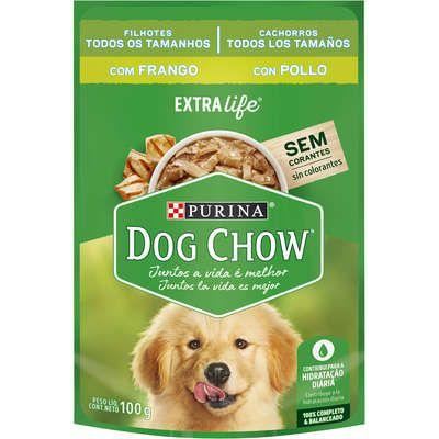 Dog Chow Sachê Câes Filhotes Frango 100g