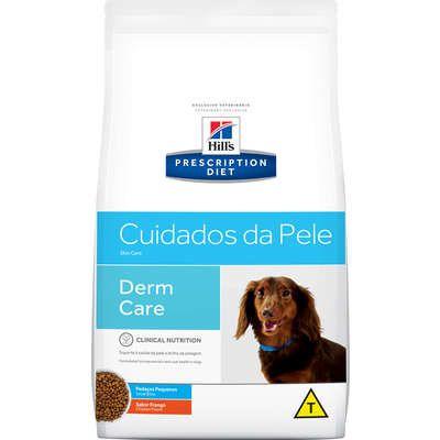 Ração Hill's Prescription Diet Cuidados da Pele para Cães Adultos - Pedaços Pequenos