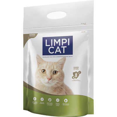 Areia Limpi Cat Granulado Sanitario para Gatos 2,5kg