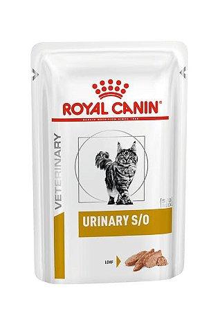 Ração Úmida Royal Canin Veterinary Diets para Gatos Urinários Urinary S/O Feline 85g