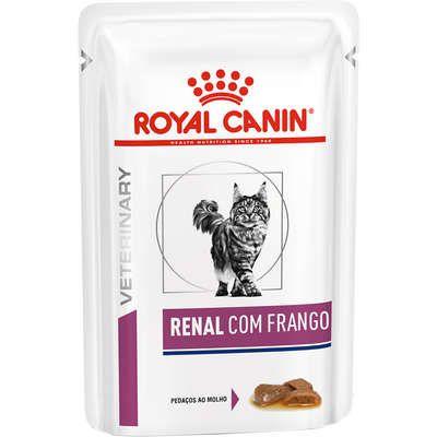 Ração Úmida Royal Canin Veterinary Diets Sache para Gatos Renais Renal Feline 85g