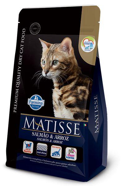 Ração Matisse para Gatos Adultos Salmão e Arroz