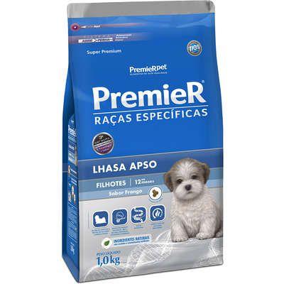 Ração Premier Raças Específicas para Cães Filhotes Lhasa Apso Sabor Frango