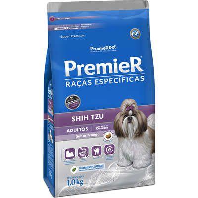Ração Premier Raças Específicas para Cães Adultos Shih Tzu Sabor Frango