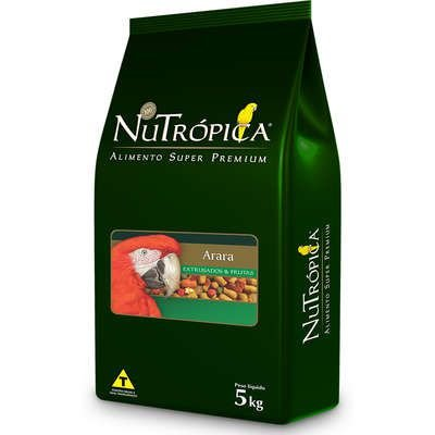 Ração Nutrópica Extrusados e Frutas para Araras 5kg
