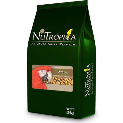 Ração Nutrópica Extrusados Natural para Araras 5kg