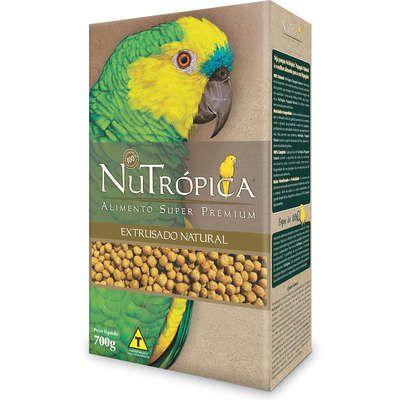 Ração Nutrópica Extrusados Natural para Papagaio