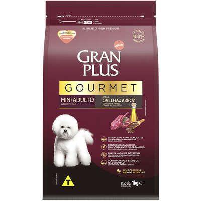 Ração Affnity Gran Plus Gourmet para Cães Mini Adultos Sabor Ovelha e Arroz