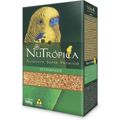 Ração Nutrópica Extrusados e Frutas para Periquito 300g