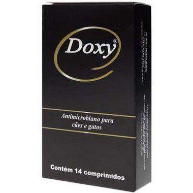 Antibiotico Doxy 100mg para Cães e Gatos 14 Comprimidos