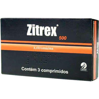 Antimicrobiano Zitrex 500mg para Cães 3 Comprimidos