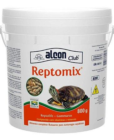 Ração Alcon Reptomix para Tartarugas 800g