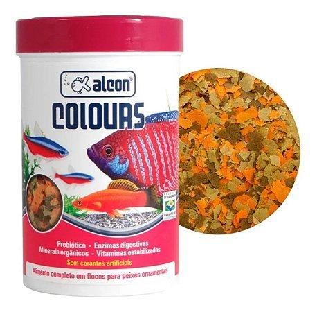 Ração Alcon Colours para Peixe 50g