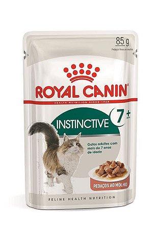 Ração Umida Royal Canin Sache para Gatos Adultos Instinctive 7+