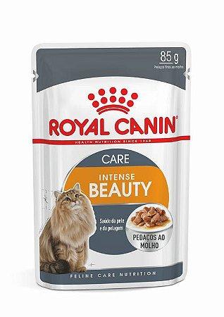 Raçao Umida Royal Canin Sache para Gatos Adultos Intense Beauty