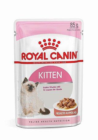 Ração Úmida Royal Canin Sachê para Gatos Filhotes Kitten