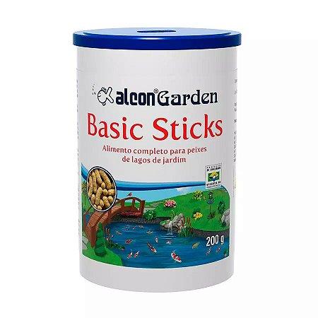 Ração Alcon Garden Basic Sticks  para Peixe 200g