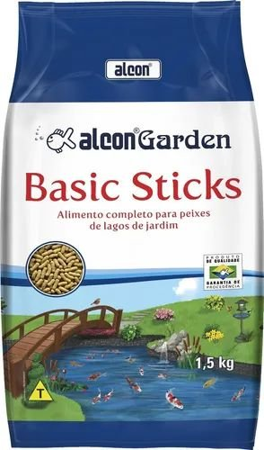 Ração Alcon Garden Basic Sticks  para Peixe 1,5kg