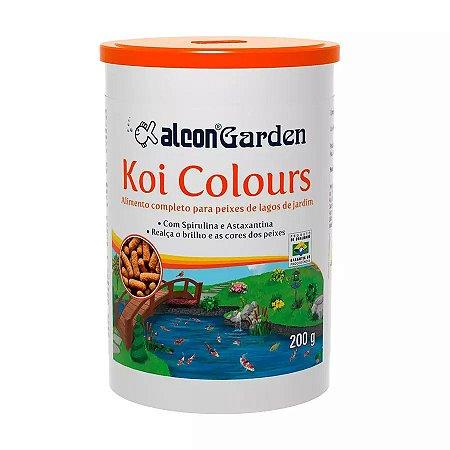 Ração Alcon Garden Koi Colours para Peixe 200g