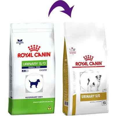 Ração Royal Canin Veterinary Diet Para Cães Urinários Raças Pequenas Urinary S/O Small Dog Canine
