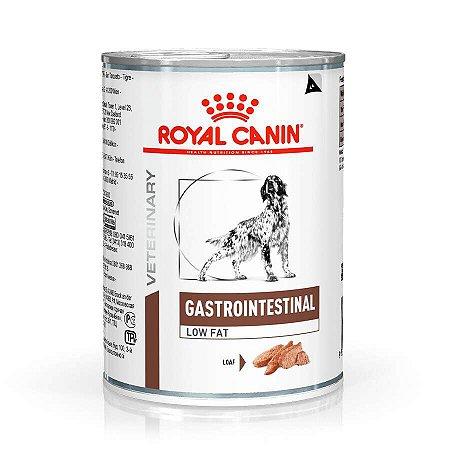 Ração Úmida Royal Canin Veterinary Diets para Cães Gastro Intestinal Low Fat Canine 410g