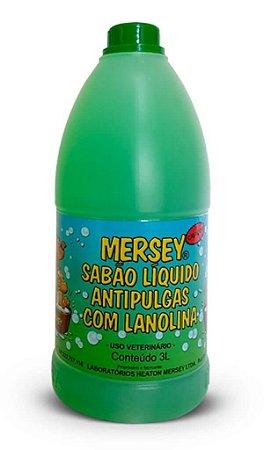 Sabão Líquido Mersey Dog Antipulgas 3Litros