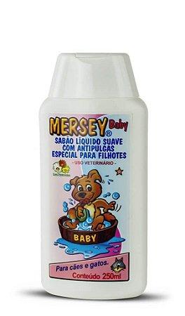 Sabão Líquido Mersey Dog Anttipulgas Baby 500ml