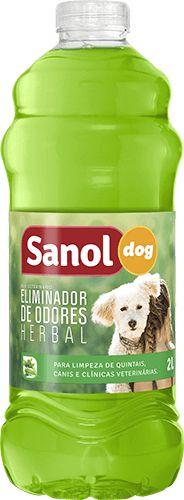 Eliminador de Odor Sanol Dog Herbal 2Litros