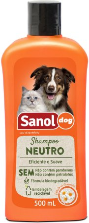 Shampoo Sanol Neutro para Cães 500ml