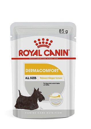 Ração Úmida Royal Canin Sache para Cães Adultos de Todas as Raças Dermacomfort 85g